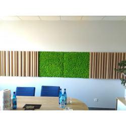 panel z mchu na wymiar dekoracja chrobotek